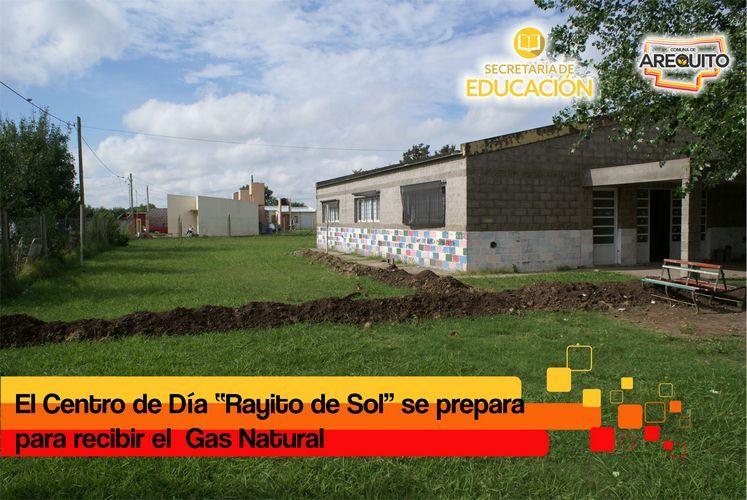 Obra de Gas Natural para el Centro de Día