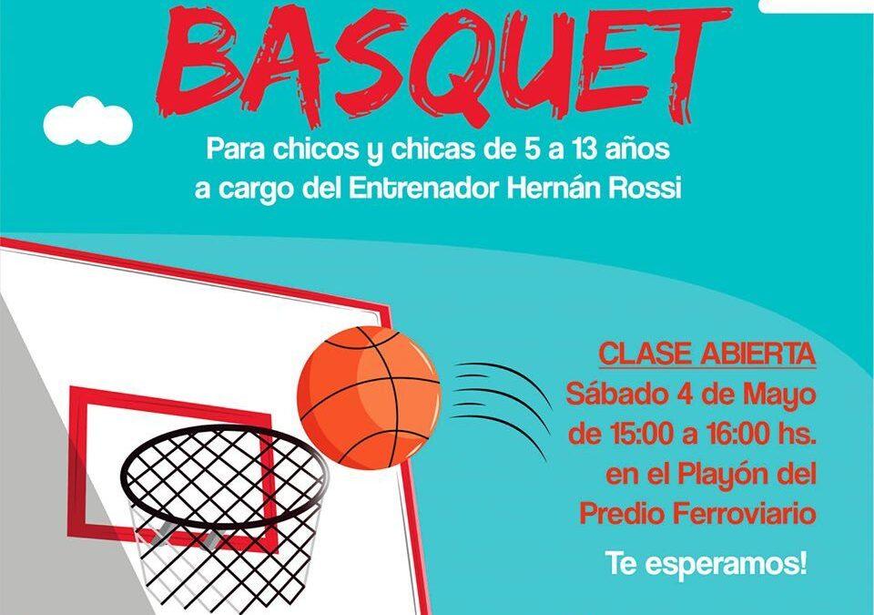 ESCUELA COMUNA DE BASQUET