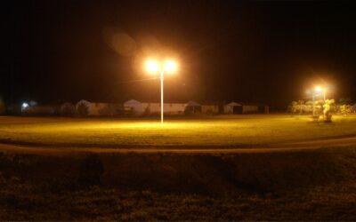 Iluminación del Velódromo