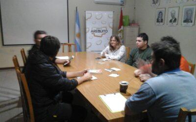 Reunión de coordinación de producción sustentable de alimentos.