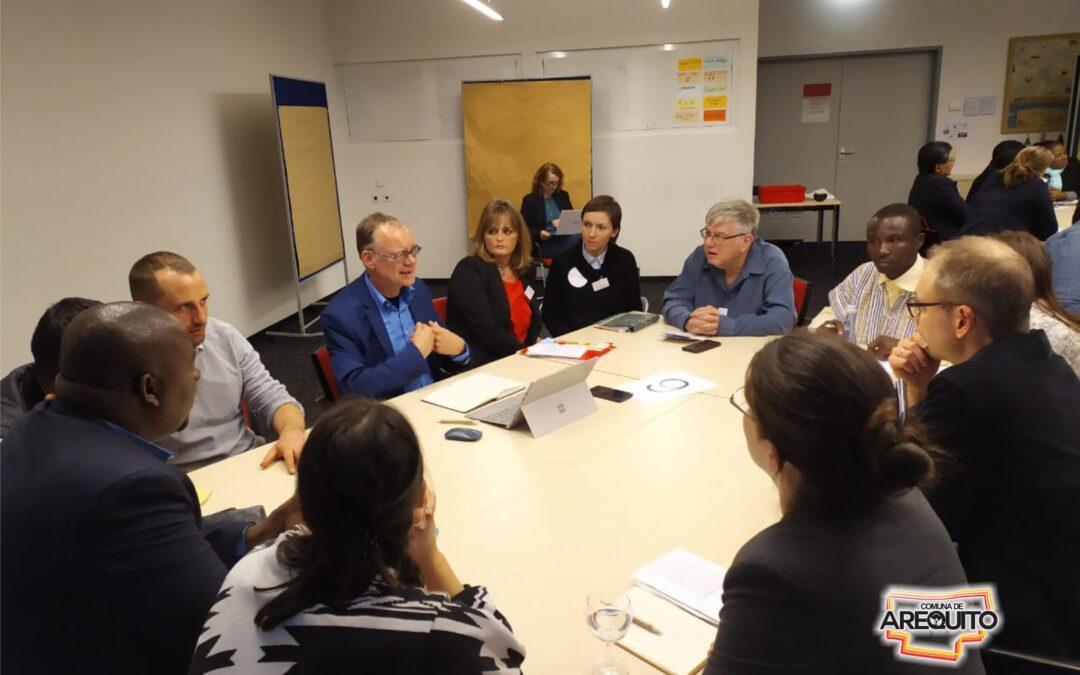 Participación de Arequito en el Foro de sobre Contratación Pública Sostenible.