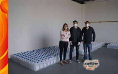 5000 Litros de alcohol para Arequito y localidades vecinas