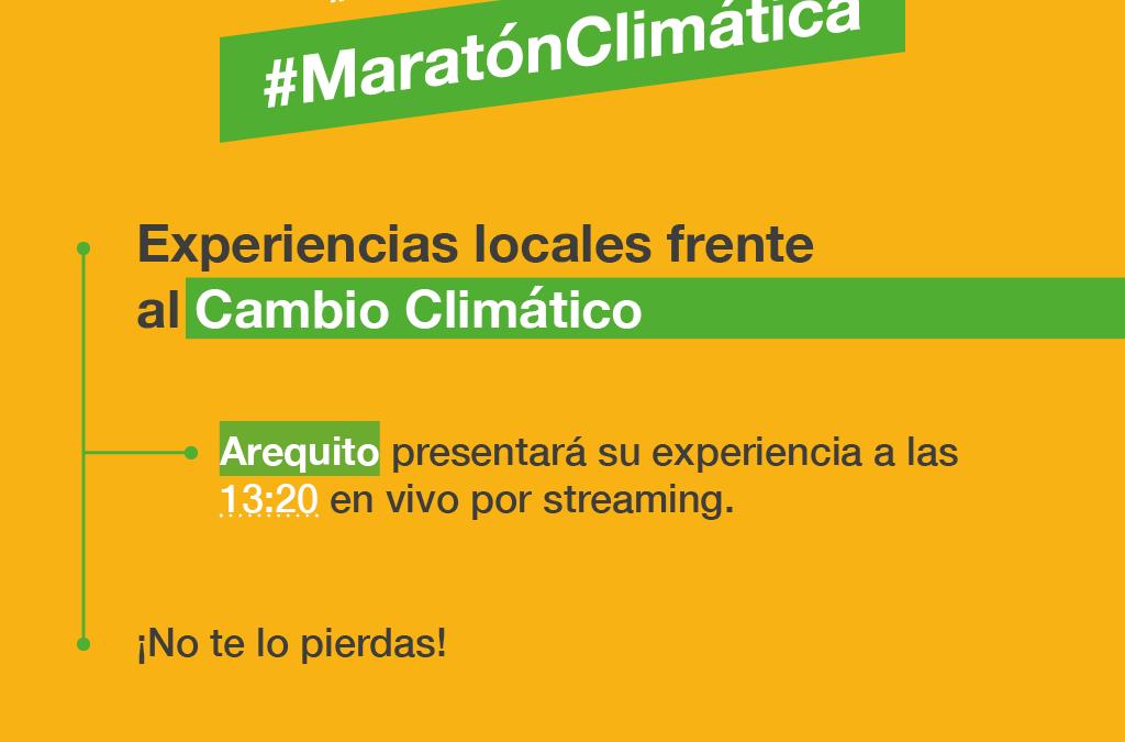 Paola Forcada presentará la experiencia de Arequito en la Maratón por la Acción Climática