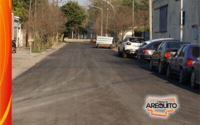 Nevas calles de asfalto