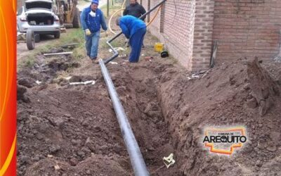 Extensión de la red de Gas Natural hacia Barrio Quintas